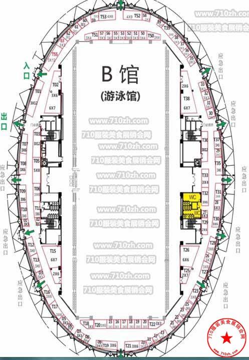 西宁体育中心平面图