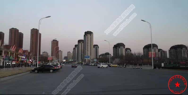武清区凯旋王国前广场实拍