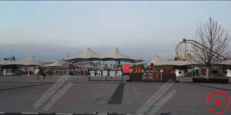 武清区凯旋王国前广场