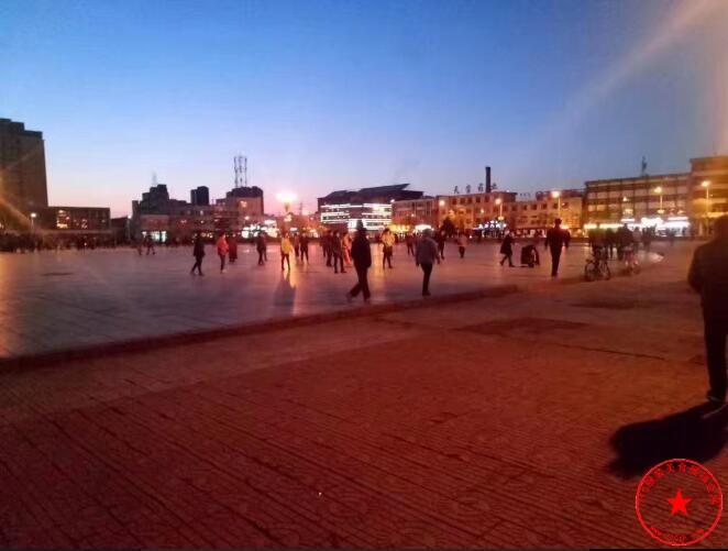 开鲁世纪广场实拍
