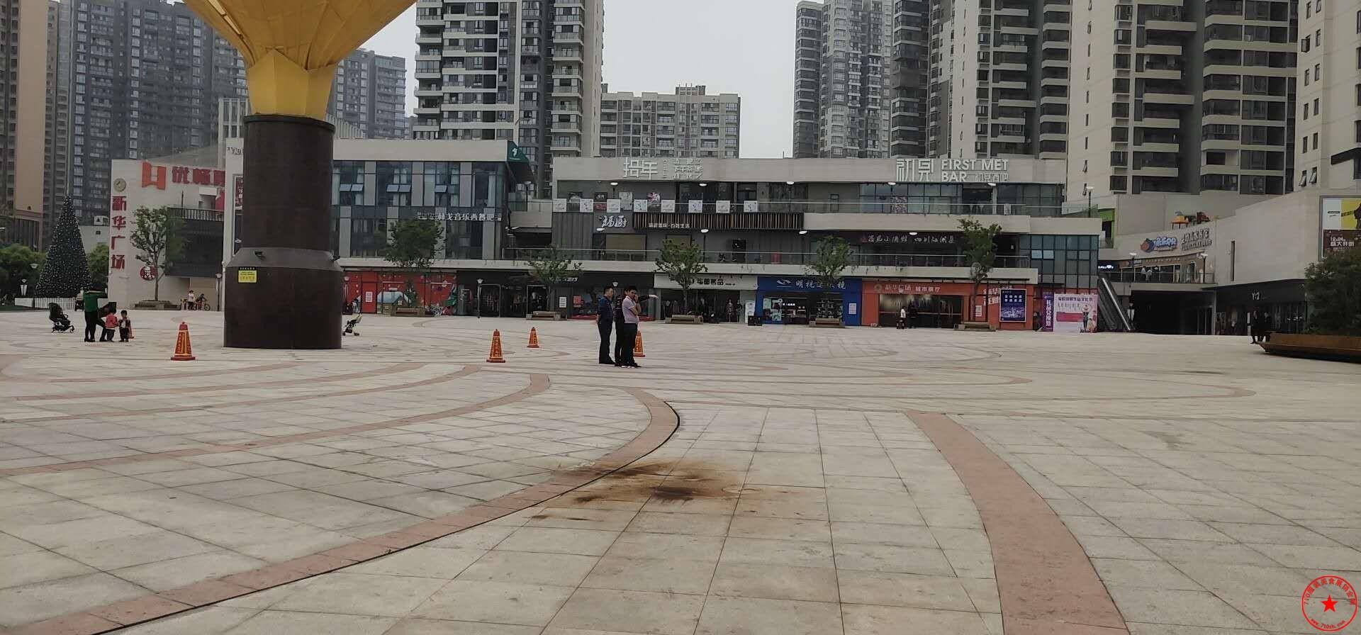 宜昌市伍家岗区新华广场场地