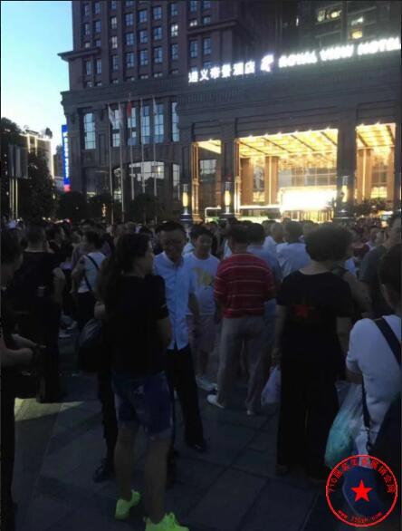遵义市市民广场实拍