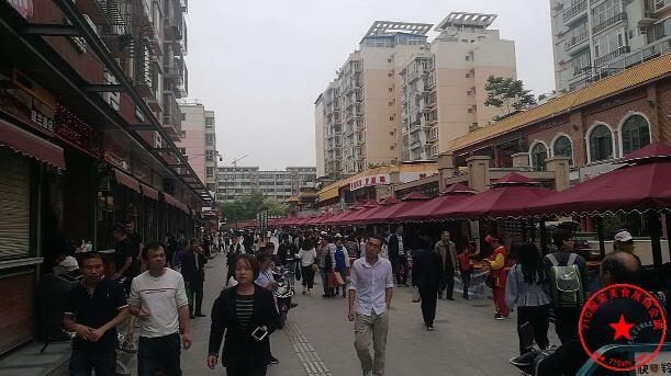七里河区建兰路商业步行街场地实拍