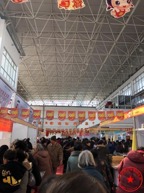 衢州市会展中心展会火爆场面