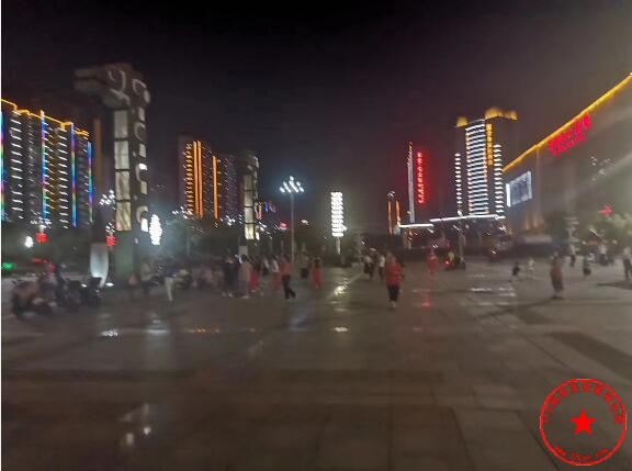 抚州文化广场实拍